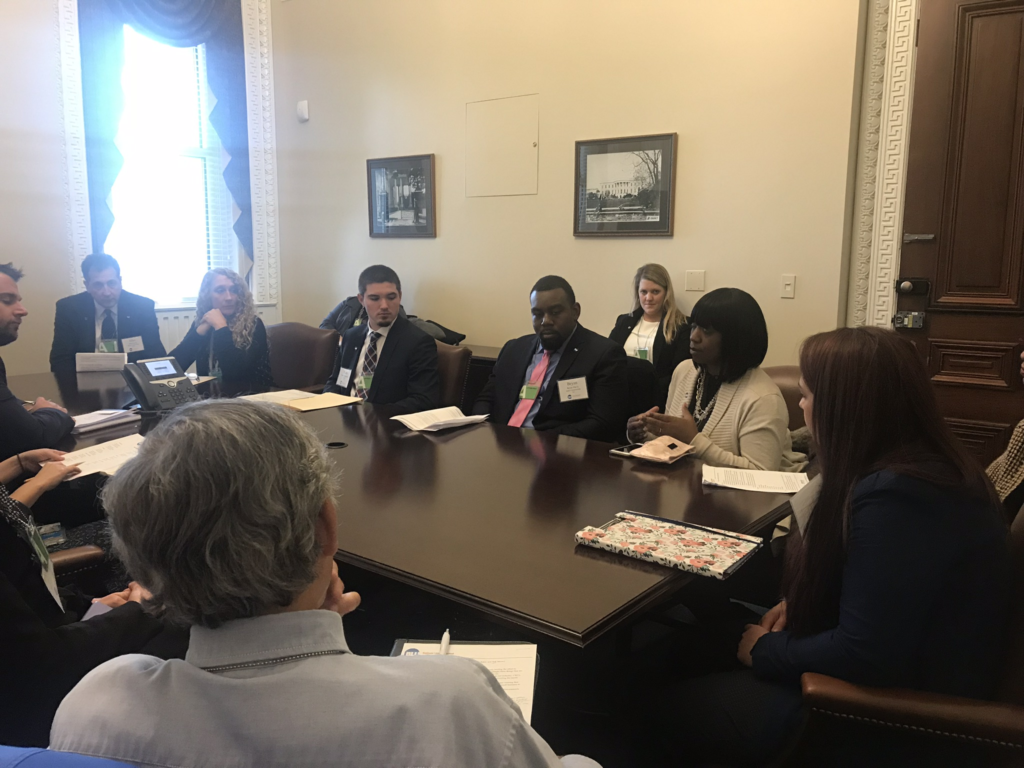 BLU brings worker voices to the Hill, White House