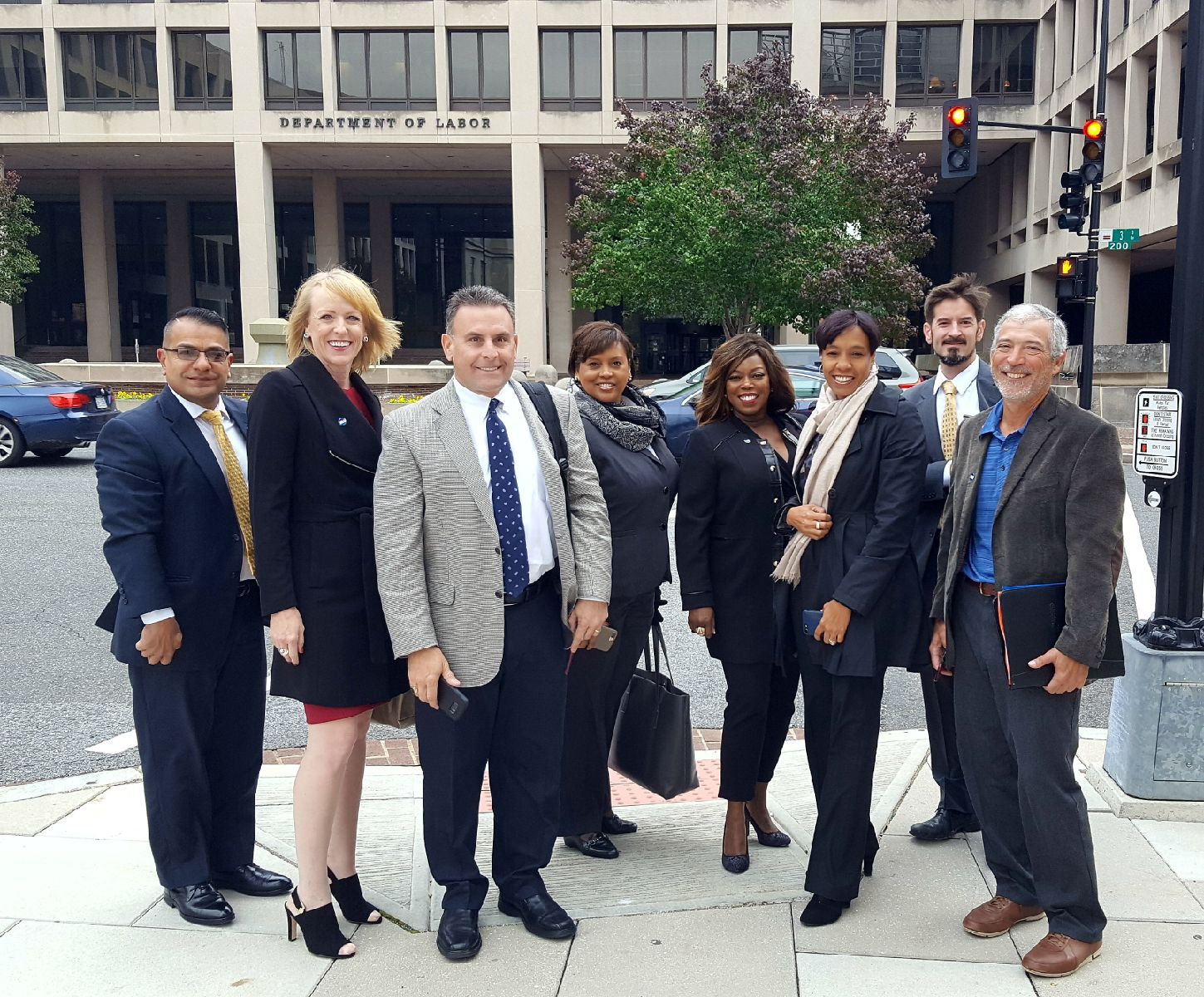 BLU members fly to DC to meet with members of the Administration