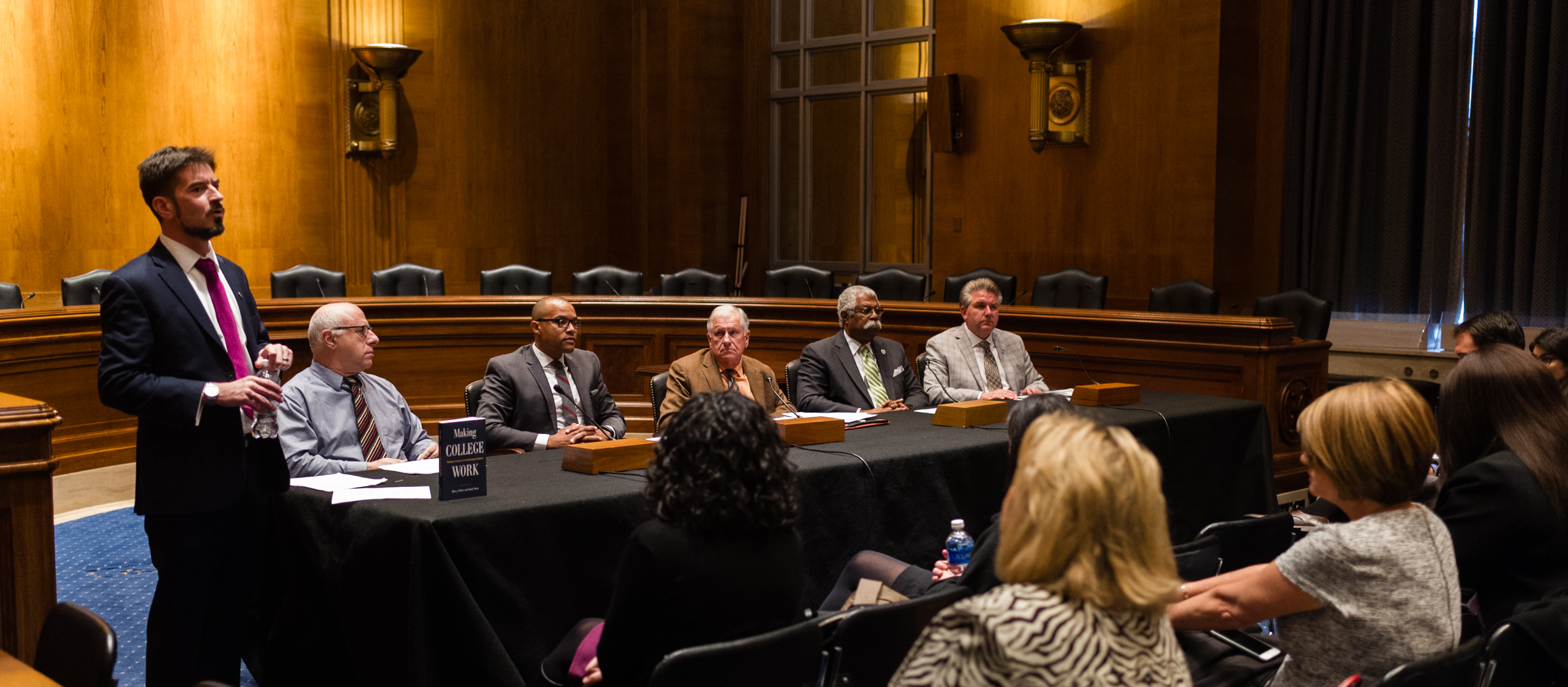 BLU education and business partnerships respond to the HEA reauthorization with their stories on Capitol Hill